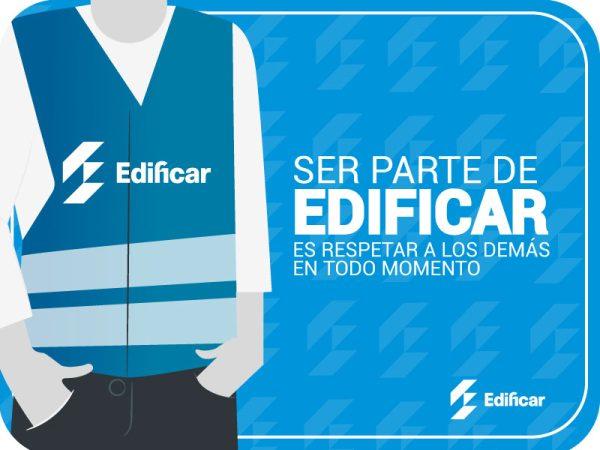 Constructora EDIFICAR impulsa campaña educativa de prevención del acoso sexual